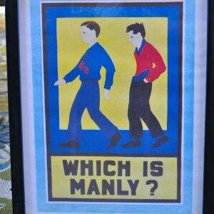 manly
