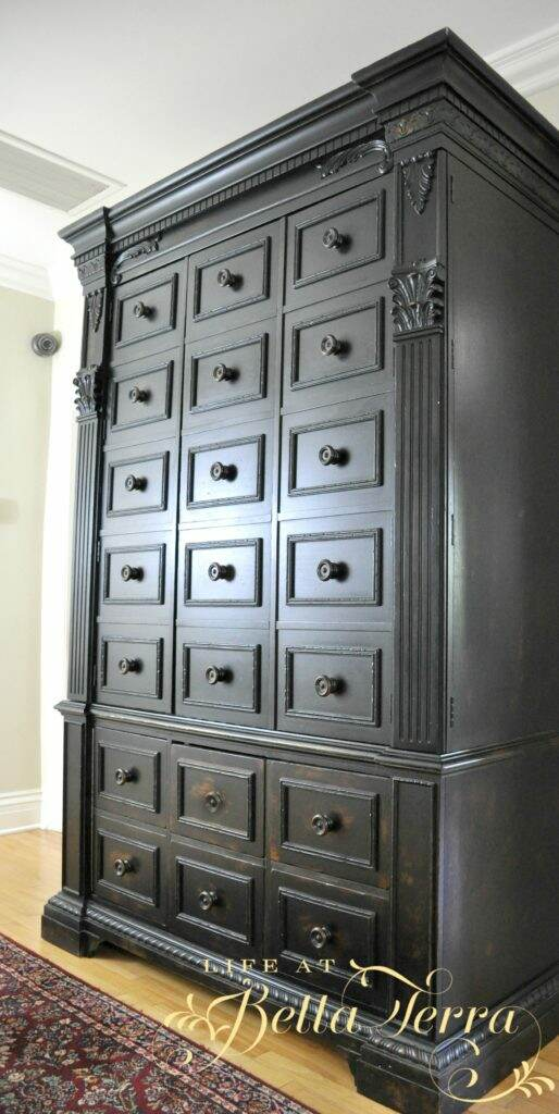 Cleaning Big Screen Tv: A Big TV Armoire Conversion And Clean Up